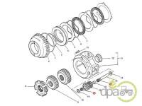 Massey Ferguson-Rulmenti transmisie-RULMENT BOLT INVERSOR