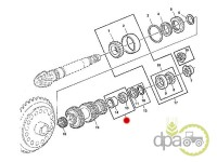 John Deere-Rulmenti transmisie-RULMENT GRUP CONIC