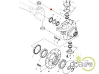 John Deere-Rulmenti sistem directie-RULMENT PIVOT