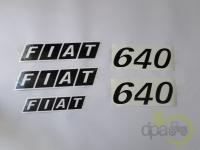 Fiat-Embleme-SET EMBLEME