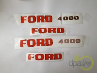 Ford-Embleme-SET EMBLEME