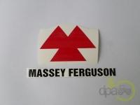 Massey Ferguson-Alte piese cabina-SIGLA AUTOCOLANTA