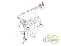 John Deere-Simeringuri transmisie-SIMERING AMBREIAJ PUNTE FATA