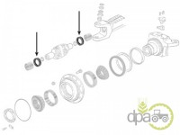John Deere-Simeringuri transmisie-SIMERING PLANETARA FATA