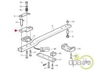 John Deere-Alte piese sistem ridicare hidraulica-SUPORT RIDICARE HIDRAULICA