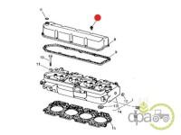 John Deere-Alte piese motor-SURUB CAPAC CULBUTORI