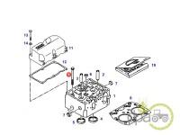 Fendt-Alte piese motor-SURUB CHIULASA