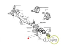 Fiat-Alte piese sistem directie-SURUB PIVOT