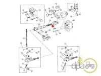 John Deere-Alte piese sistem ridicare hidraulica-SURUB SUPORT TIRANT